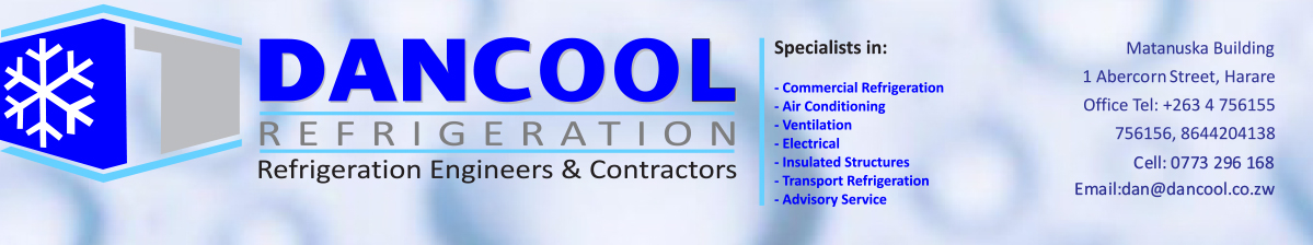 Dancool Refrigeration (Pvt) Ltd Refrigeration Engineers and Contractors