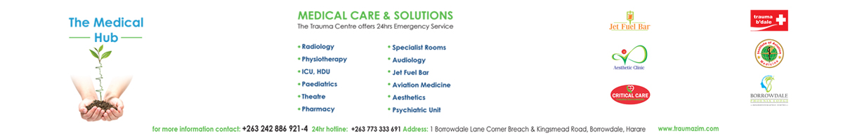 Trauma Centre Borrowdale Emergency Clinic