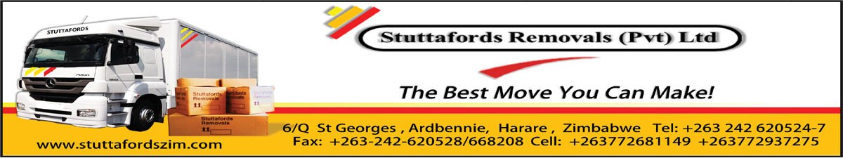 Stuttafords Removals Pvt Ltd. The Best Move You Can Make