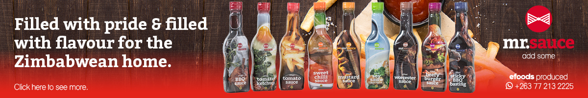 Efoods Zimbabwe Premier Manufacturer of Single Serve Sachets and Sauces.