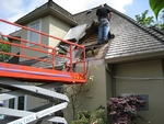 Roof leak diagnosis and repairs