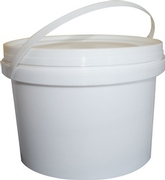 5 litre plastic tub (bucket)