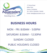 Aquacoolers Zim Pvt Ltd Business Hours
