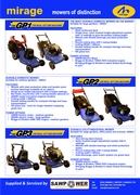 Mirage Lawn Mower Range