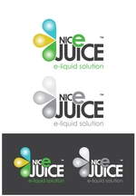Development of the NicE Juice logos and brand